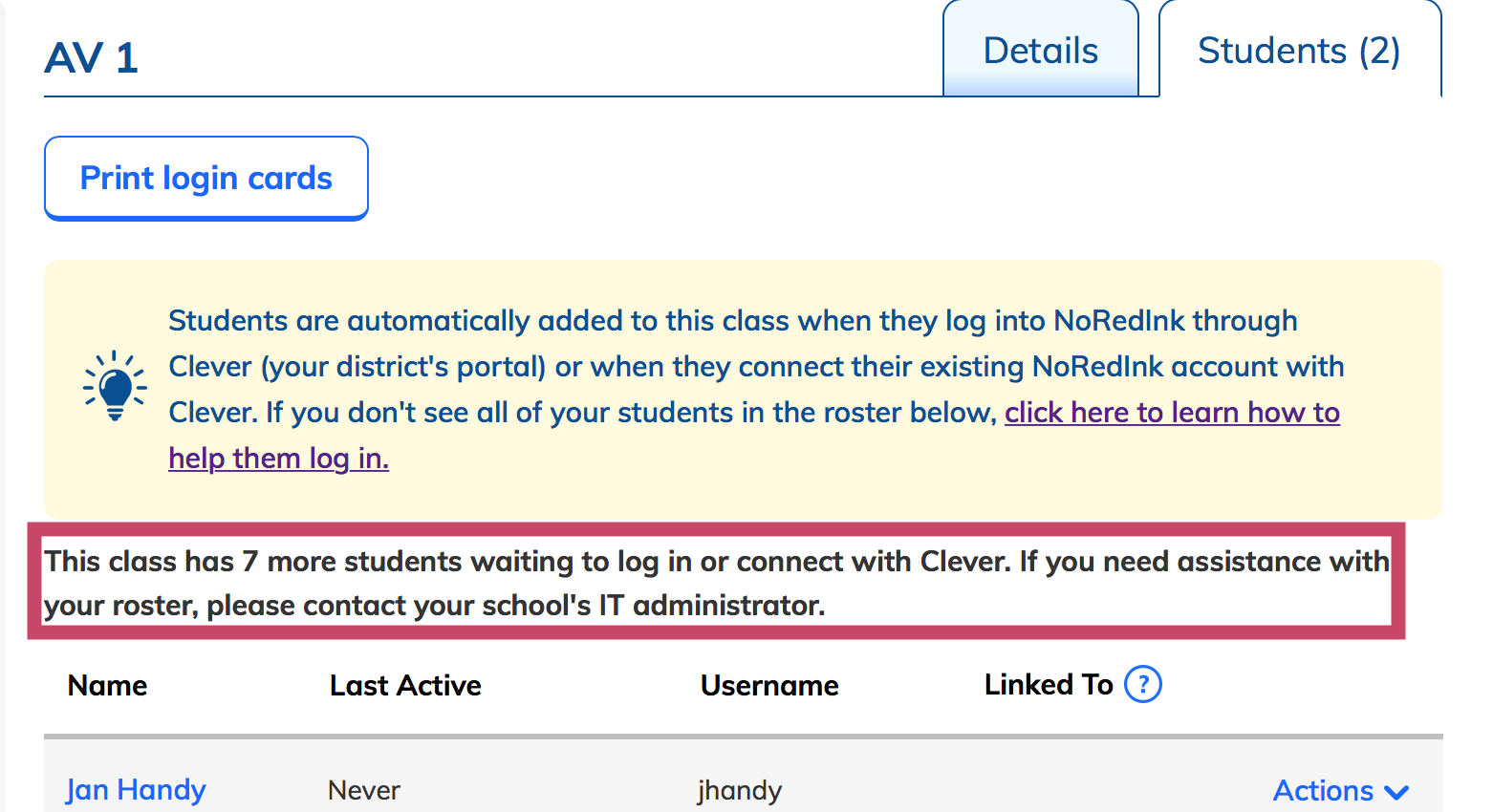 Using Clever with NoRedInk - NoRedInk Help Center